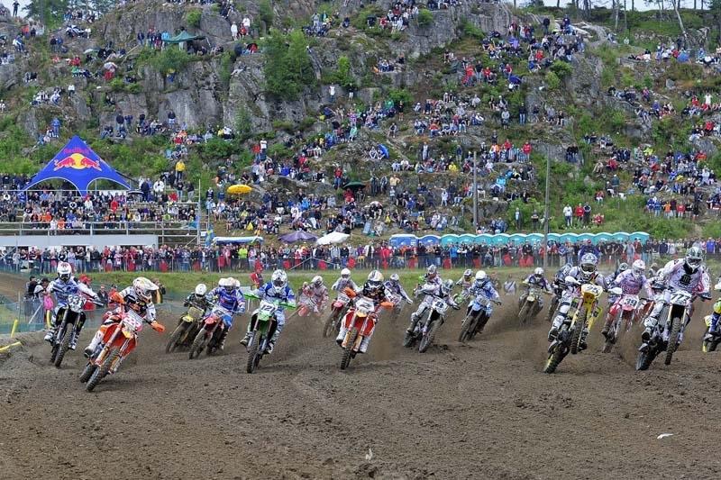 Motocross mondial :  Suède, MX 1, Antonio Cairoli s'offre le doublé