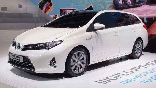 Toutes les nouveautés de Genève 2013 - Toyota Auris Touring Sports : définitive