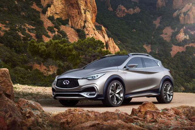 Infiniti confirme le crossover QX30 pour le salon de Los Angeles