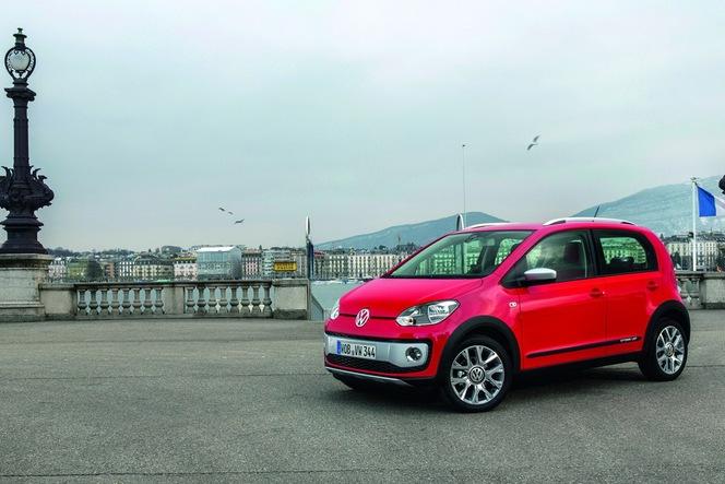 Toutes les nouveautés de Genève 2013 - Volkswagen Cross Up! : baroudeuse ?
