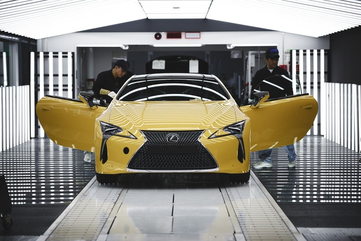 Lexus LC : début de la production pour l'Europe