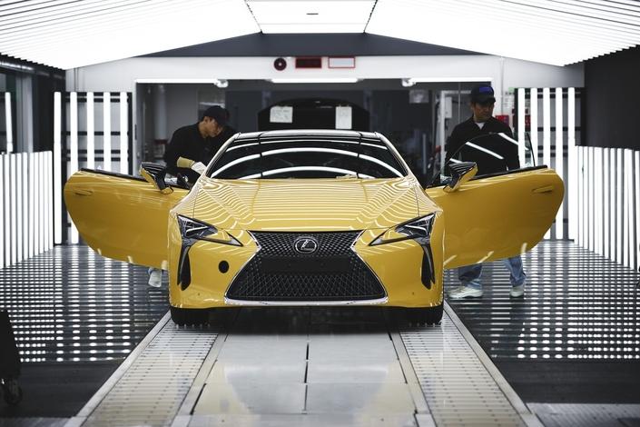 Lexus LC: début de la production pour l'Europe