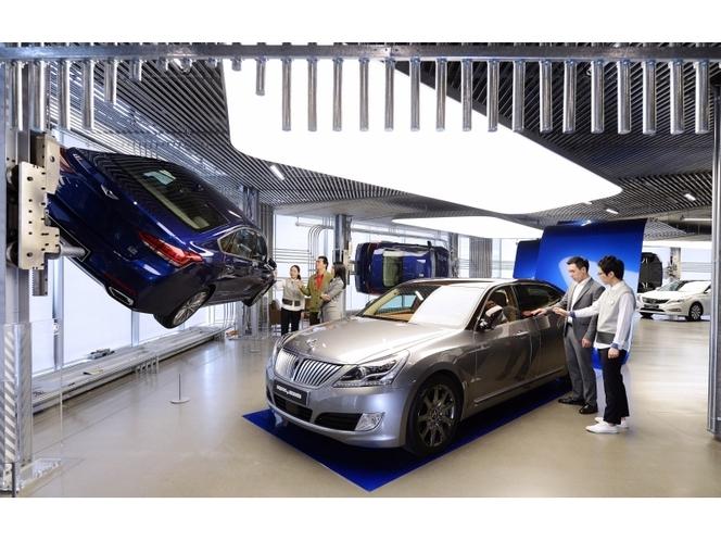 """""""Hyundai Motorstudio"""": un nouveau concept de showroom ouvre à Séoul"""