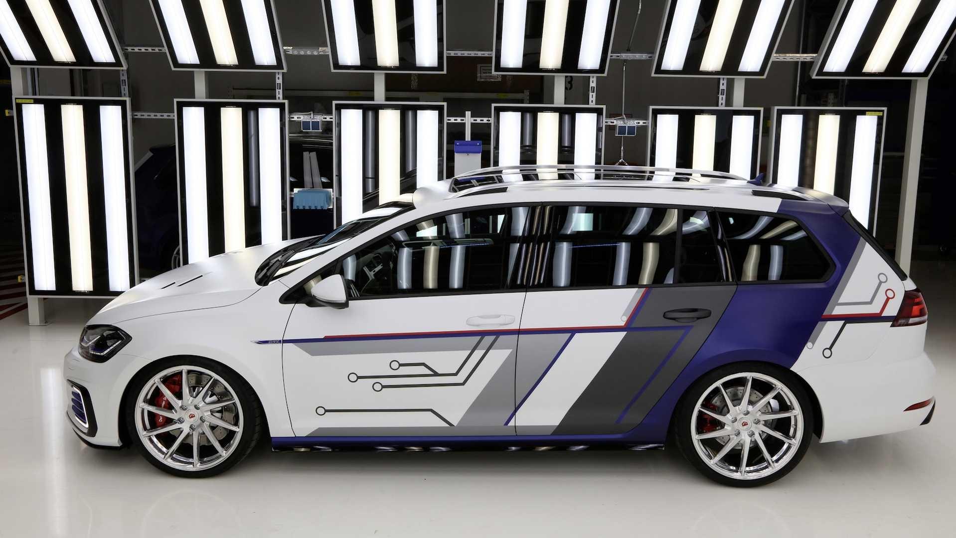 worthersee 2017 volkswagen d voile deux concepts de golf. Black Bedroom Furniture Sets. Home Design Ideas