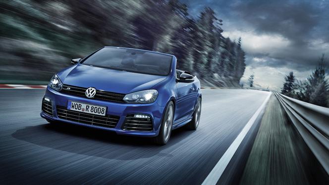 Genève 2013 - Nouvelle VW Golf R Cabriolet : 265 ch et un prix salé