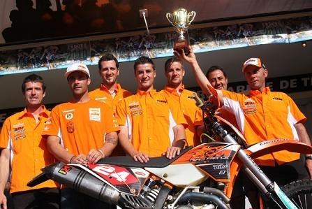 Championnat de France d'enduro : Langogne, Pierre Alexandre Renet, champion E 2