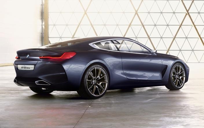 Salon de Francfort 2017 - BMWSérie 8 Concept: faire-part de renaissance
