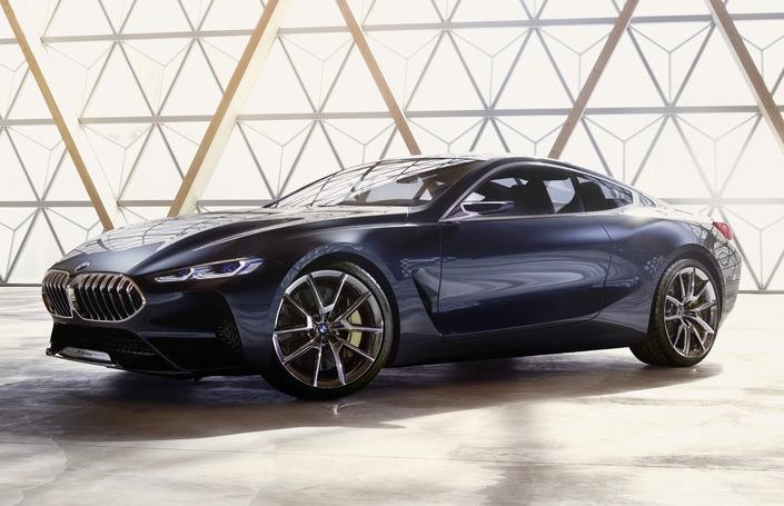 BMW dévoile le concept Série 8