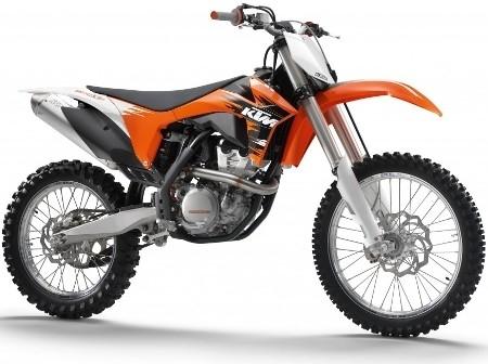 KTM, tarifs des différents modèles off-road pour 2011.
