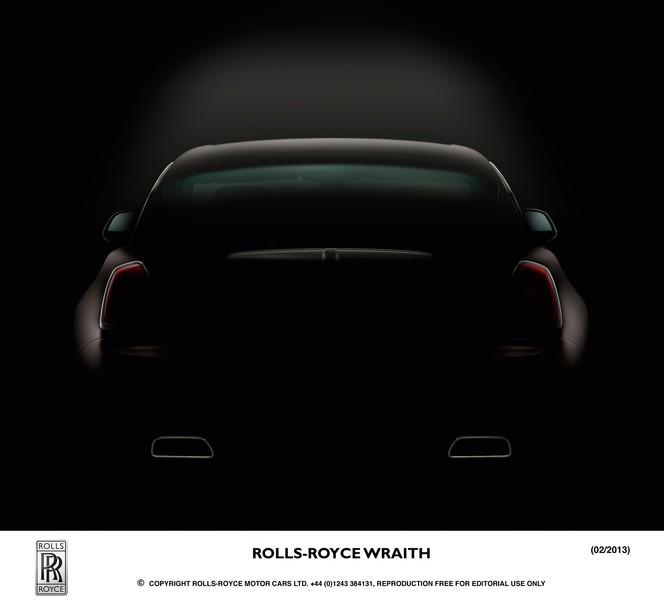 Toutes les nouveautés de Genève 2013 - Rolls Royce Wraith : dynamique !