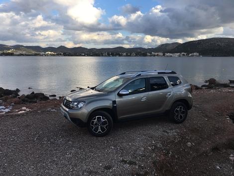 Dacia Duster 2 - Les premières images de l'essai en live