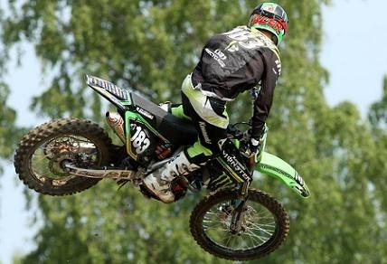 Motocross mondial :  Suède, Steven Frossard gagne son 1er GP