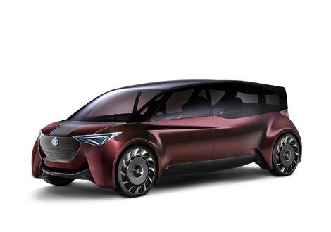 Le concept Fine-comfort dévoilé à Tokyo utilise aussi une technologie de pile à combustible à hydrogène avec une autonomie de 1000 km