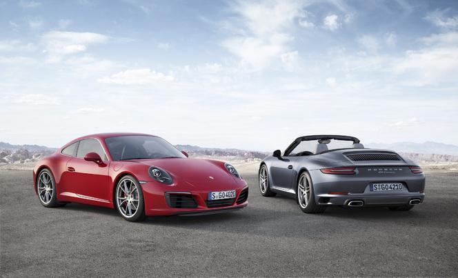 Salon de Francfort 2015 - Porsche 911 restylée : place au turbo