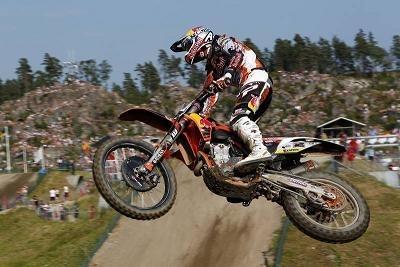 Motocross mondial :  Suède, Antonio Cairoli explique qui est le patron de la catégorie