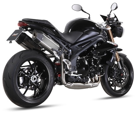 Mivv: un Speed Edge à Catalyseur pour la Triumph Speed Triple (2011)