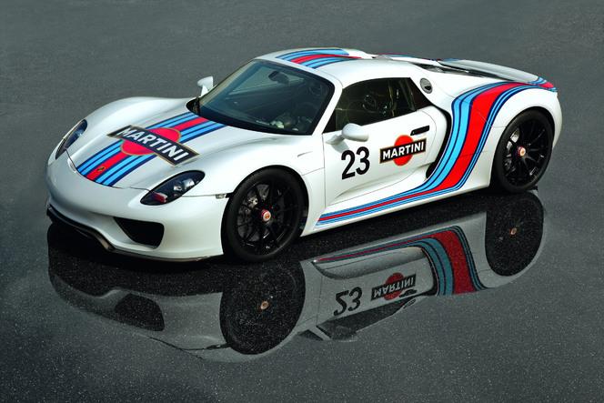 Toutes les nouveautés de Genève 2013 - Porsche 918 Spyder : compétitrice