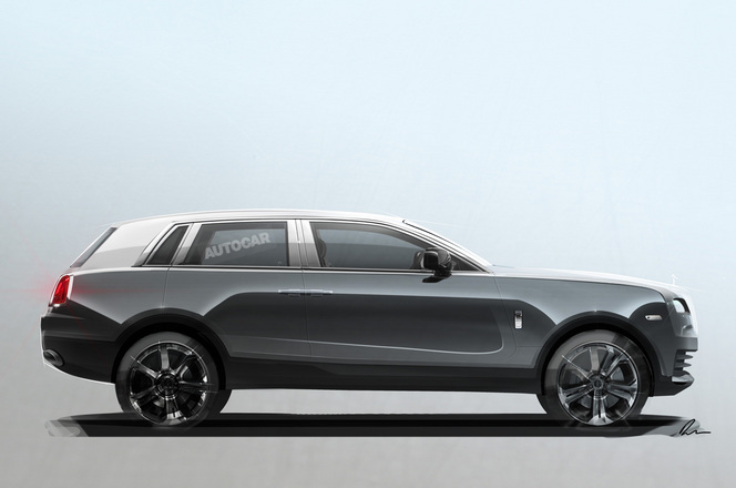 Rolls Royce détaille son SUV de 2017