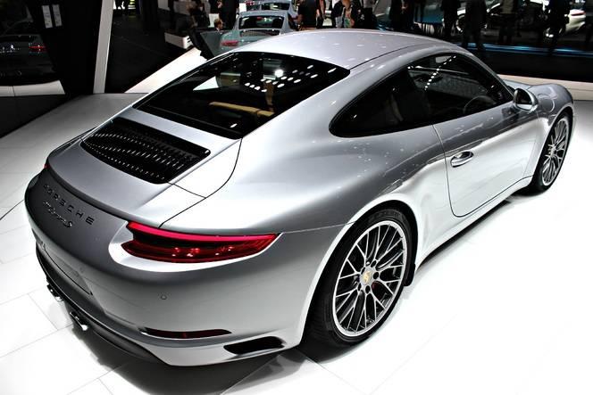 Porsche 911 restylée : elle ne manque plus d'air - Vidéo en direct du Salon de Francfort 2015