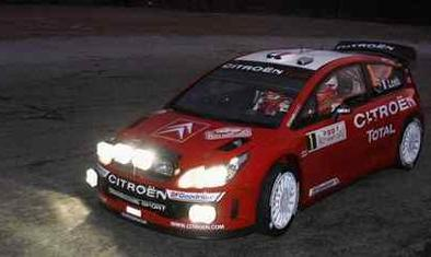 WRC: Monte Carlo: D.1: Loeb irradie la nuit