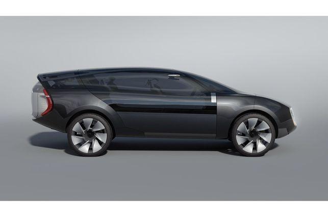 Le concept-car Renault Ondelios ? Un cross-over qui émet 120 g CO2/km