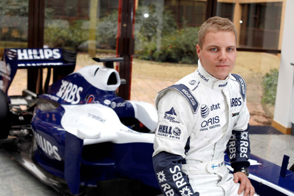 F1 : Williams confirme Maldonado et signe Valtteri Bottas comme troisième pilote