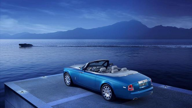 Rolls-Royce dévoile sa Phantom Drophead Coupé Waterspeed Collection