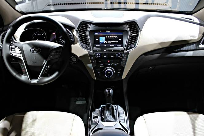 Hyundai Santa Fe restylé : léger repoudrage - Vidéo en direct du Salon de Francfort 2015