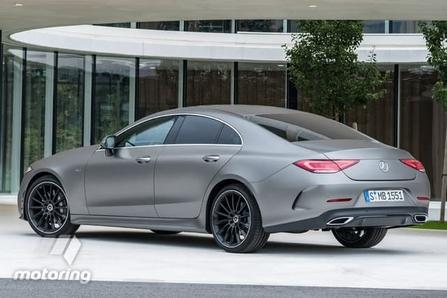 Nouvelle Mercedes CLS: les premières photos en fuite