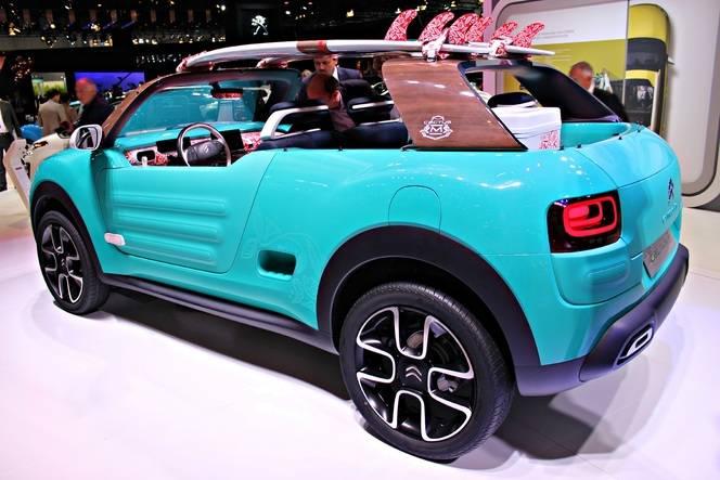 Citroën C4 Cactus M Concept : M comme Mehari - Vidéo en direct du Salon de Francfort 2015