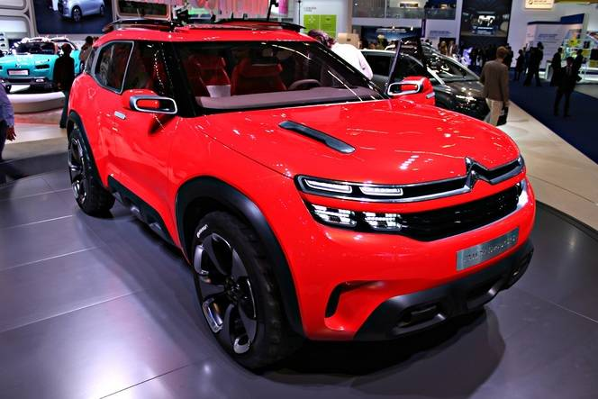 Citroën Aircross Concept : un Cactus plus piquant - En direct du Salon de Francfort 2015
