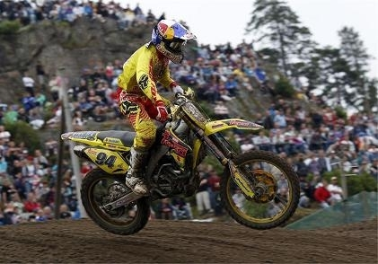 Motocross mondial :  Suède, chez Suzuki, bien pour Desalle et Ramon mais pas bon pour Roczen