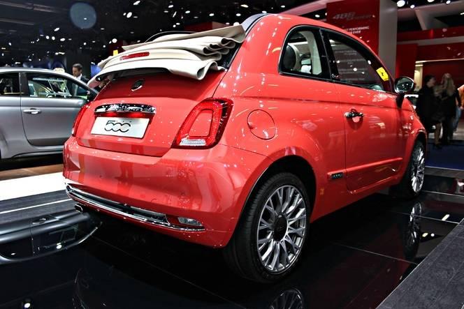 Fiat 500 : un restylage discret mais efficace - Vidéo en direct du Salon de Francfort 2015