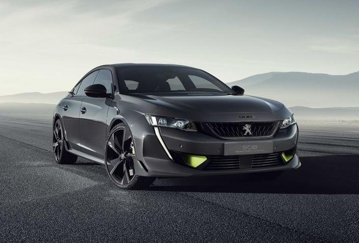 Salon de Genève 2019 - Peugeot dévoile une 508hybride sportive