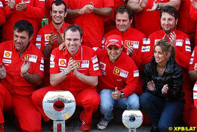 Formule 1 - Ferrari: Le torchon brûlerait-il entre Massa et Baldiserri ?