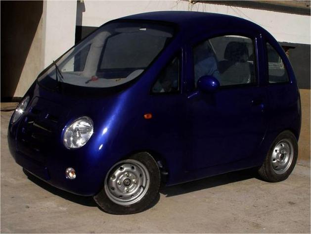 Une voiture électrique chinoise : la Chika