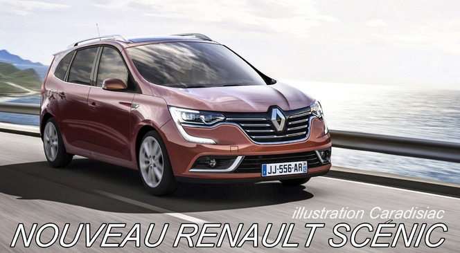 Renault prépare son nouveau Scénic