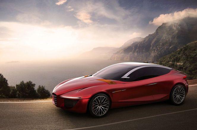 Genève 2013 : Alfa Romeo Gloria, un concept d'école