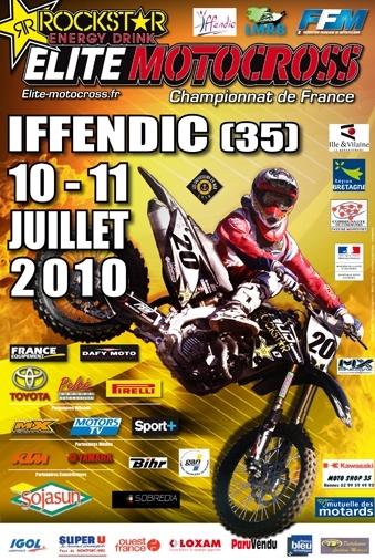 Motocross : Championnat de France Elite ; Iffendic, c'est ce week-end