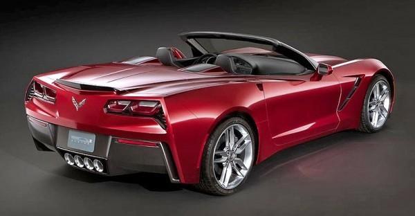 Toutes les nouveautés de Genève 2013 - Chevrolet Corvette Stingray cabriolet  : merci !