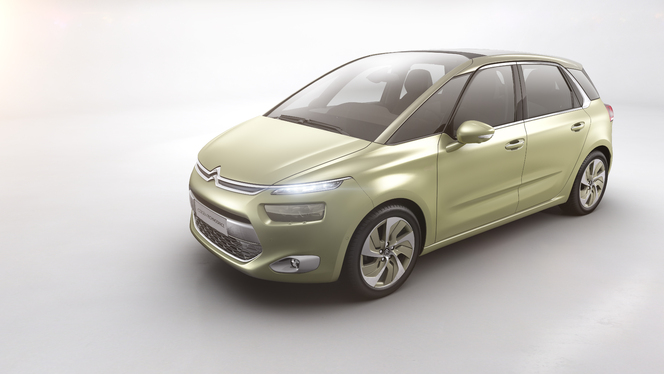 Toutes les nouveautés de Genève 2013 - Citroën Technospace : chevronnée