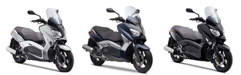 Nouveauté Yamaha 2010 : Les XMax 125 et 250 entièrement revus