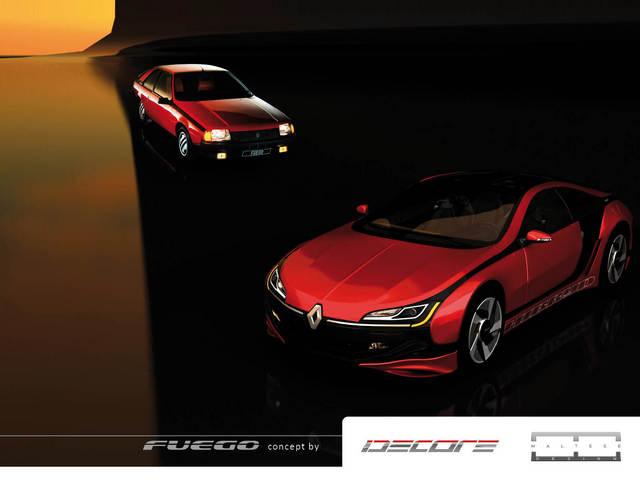 Renault Fuego Design Concept : une i8 pour le Losange