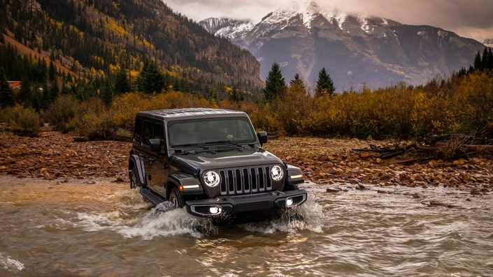 Salon de Los Angeles - Le nouveau Jeep Wrangler passe à l'hybride