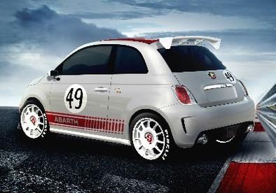 Abarth 500 Assetto Corse: +65 ch/-180 kg