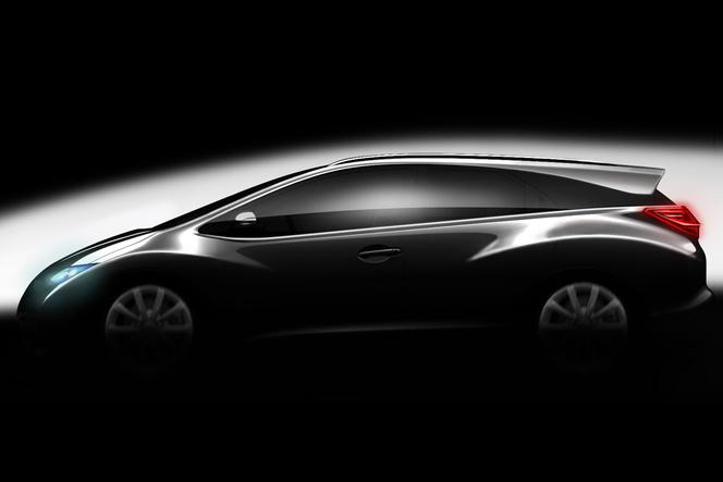 Toutes les nouveautés de Genève 2013 - Honda Civic Wagon Concept : prometteur