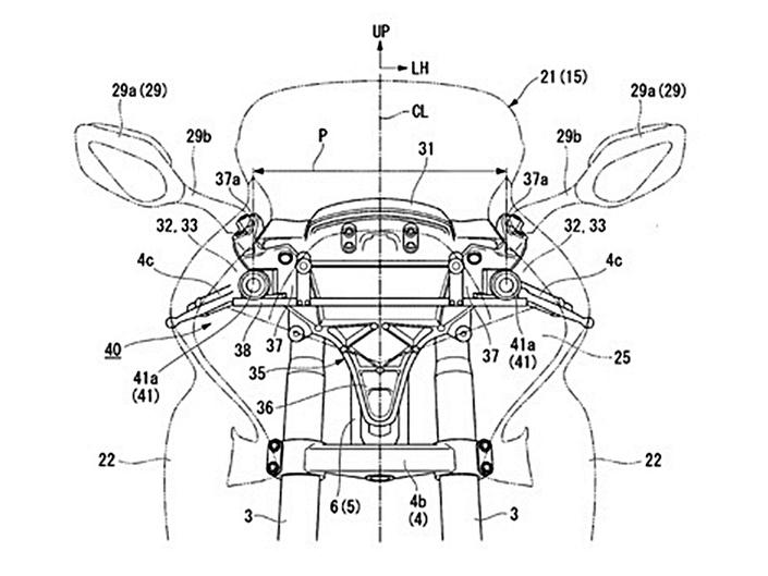Nouveauté - Honda: la nouvelle Goldwing aura deux caméras pour une vision en 3D