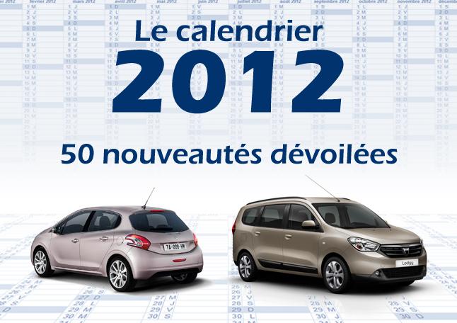 Toutes les nouveautés 2012 : 50 modèles dévoilés