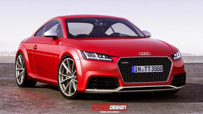 Futur Audi TT-RS : comme ça ?