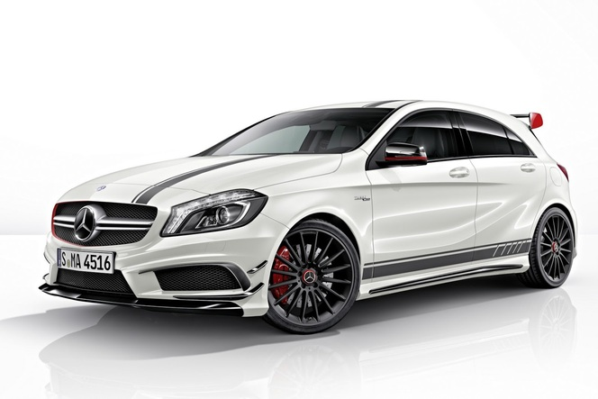 mercedes a45 amg d j l 39 edition 1. Black Bedroom Furniture Sets. Home Design Ideas